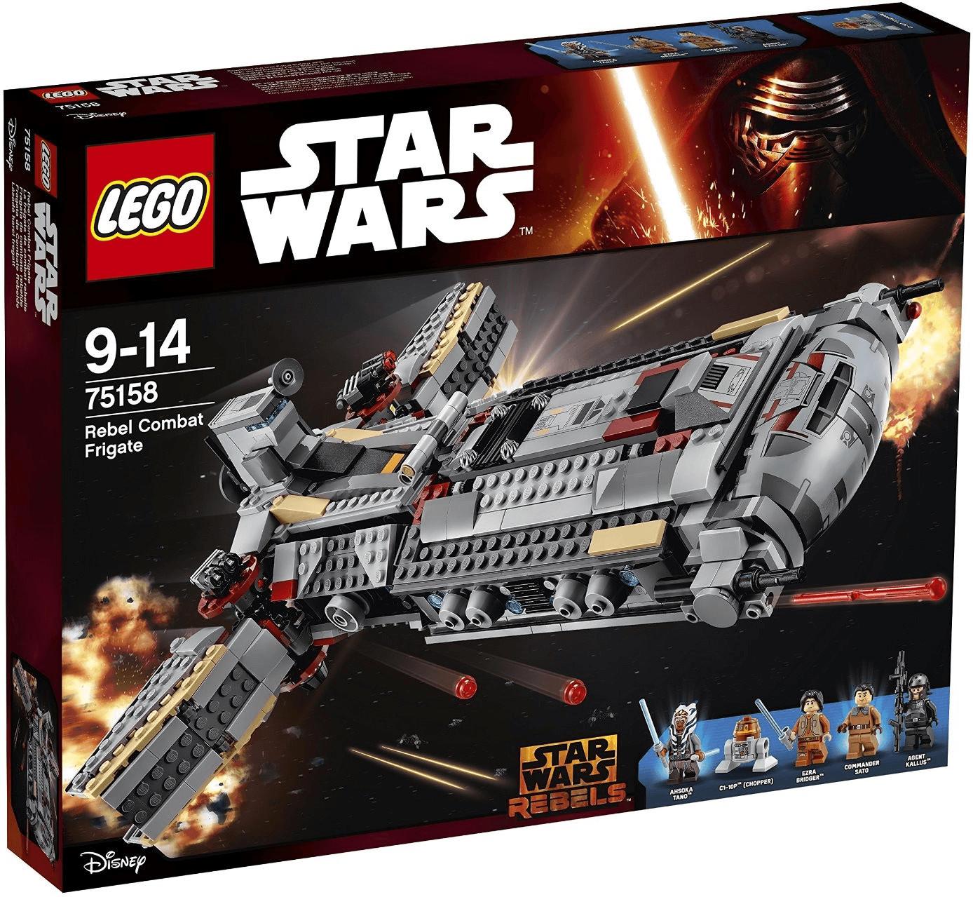 LEGO Star Wars - Rebel Combat Frigate (75158)