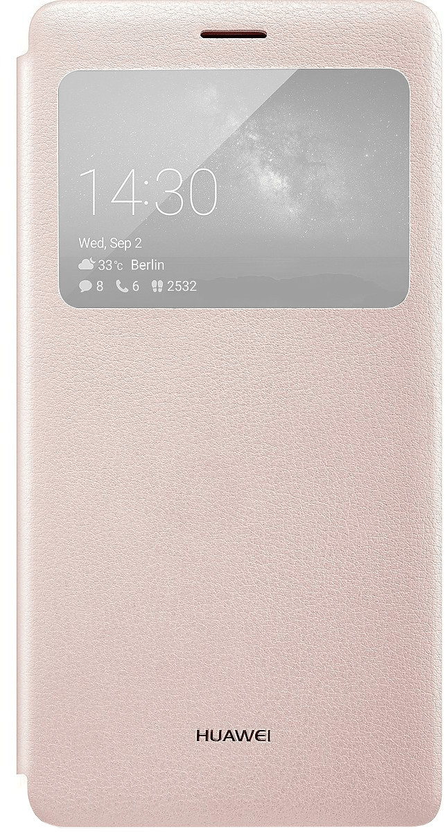 Huawei View Flip Cover (Mate S) rose