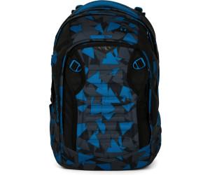b749730430878 ergobag Satch Match Schulrucksack Blue Triangle ab 99