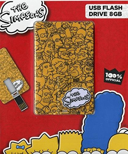 Tribe Simpsons Logo Iconic Card 8GB