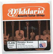 D'Addario EJ15 String Set