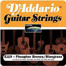 D'Addario EJ19 Bluegrass String Set