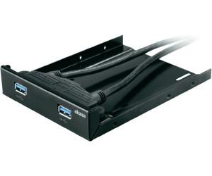 Image of Akasa 2 Port USB 3.0 Frontpanel (AK-HDA-09BK)