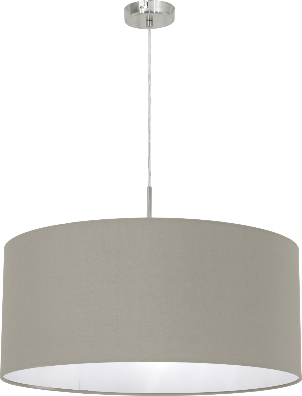 Eglo LED-Deckenleuchte Pasteri Ø 53cm grau (31576)