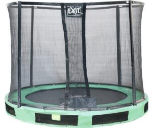 exit trampolin in terra 244 cm mit sicherheitsnetz ab 199 00 preisvergleich bei. Black Bedroom Furniture Sets. Home Design Ideas
