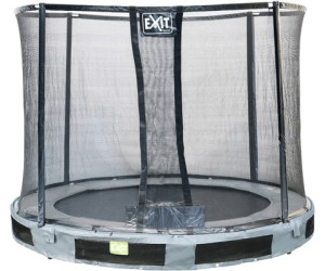 exit trampolin in terra 244 cm mit sicherheitsnetz ab 199 00 preisvergleich bei. Black Bedroom Furniture Sets. Home Design Ideas