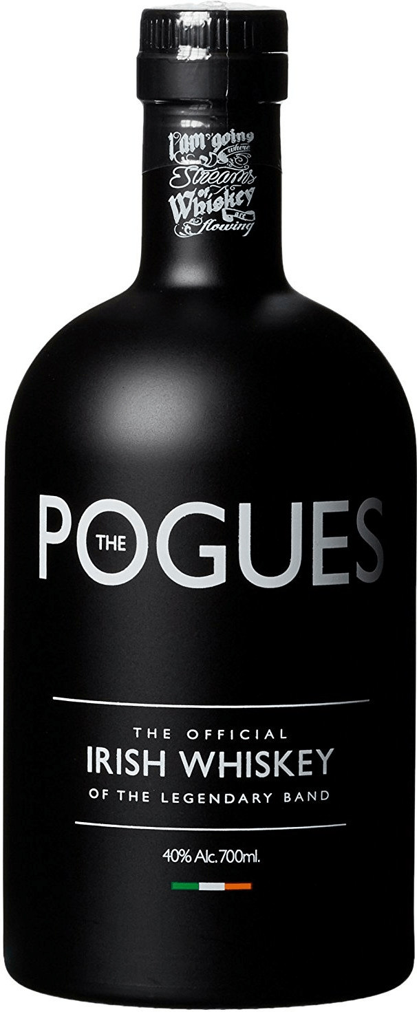 The Pogues Blended Irish Whiskey 0,7l 40%