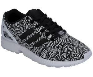 adidas ZX Flux W S76603 Sneaker Weiß Schwarz Rosa Torsion