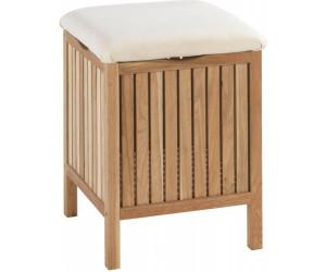 wenko hocker norway mit w schesammler walnussholz 18614100 ab 29 09 preisvergleich bei. Black Bedroom Furniture Sets. Home Design Ideas