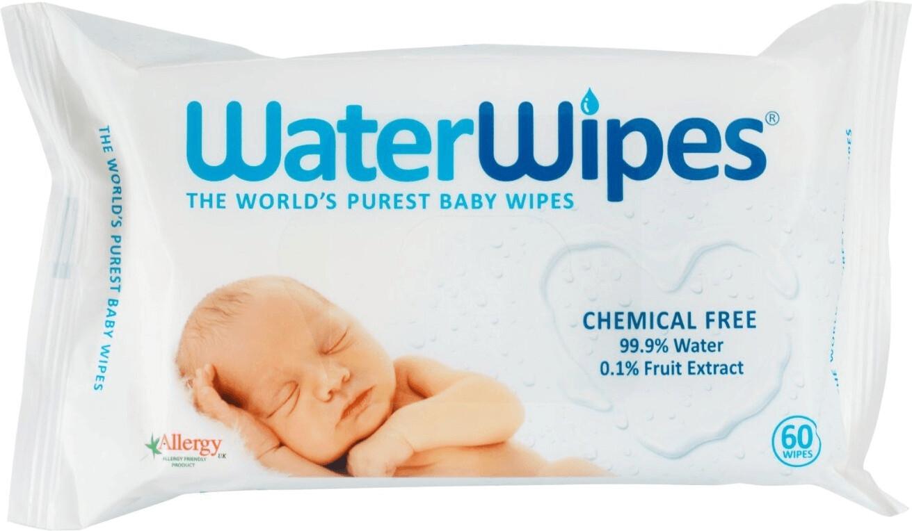 WaterWipes Feuchttücher (12 x 60 Stk.) Mega Value Pack
