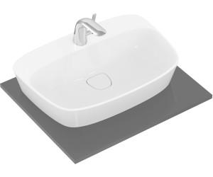 Ideal standard waschtisch schale dea 62 5 x 43 cm mit - Aufsatzwaschbecken ohne hahnloch ...
