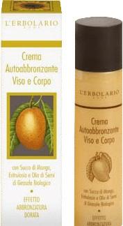 L'Erbolario Self Tan Cream (100 ml)