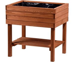 dobar hochbeet 80 x 60 x 80cm ab 64 79 preisvergleich bei. Black Bedroom Furniture Sets. Home Design Ideas