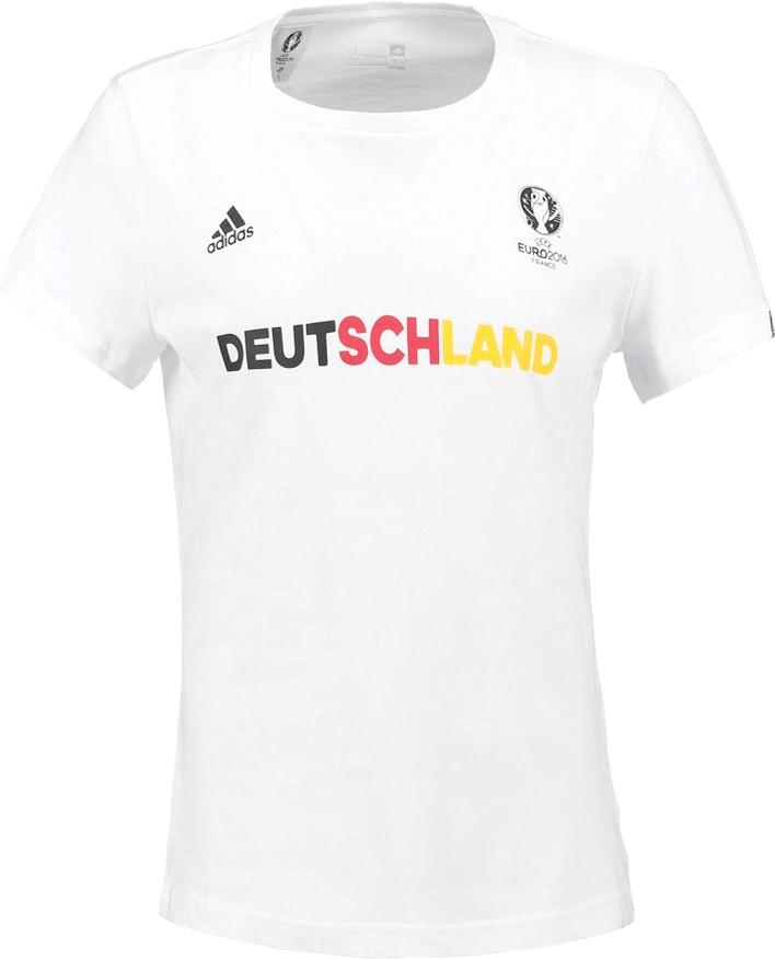 Adidas Deutschland Graphic T-Shirt EM 2016 Damen