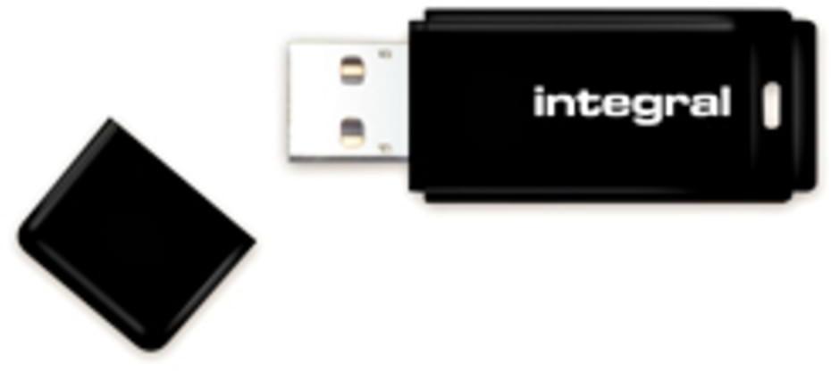 Image of Integral Black USB 2.0 128GB