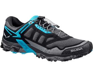 Salewa Ultra Train - Bergschuh Damen, Damen Outdoor Fitnessschuhe, Schwarz (Black Out/Ocean 0961), 36.5 EU (4 Damen UK)