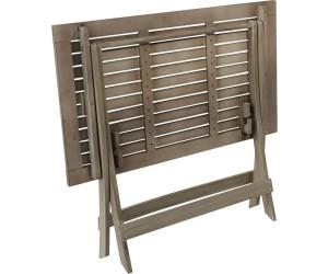 gardissimo stockholm akazienholz tisch 90x60cm grey washed ab 35 04 preisvergleich bei. Black Bedroom Furniture Sets. Home Design Ideas