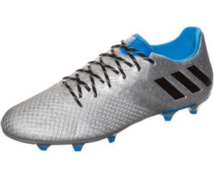 Adidas Botas De Fútbol Messi 16,3 Fg JTacos MoldeadosPlateado Y Negro
