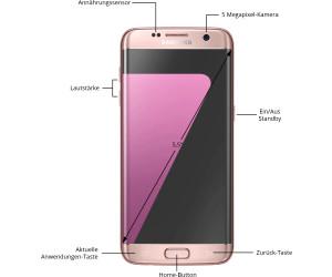 samsung galaxy s7 edge pink gold ab 369 00. Black Bedroom Furniture Sets. Home Design Ideas
