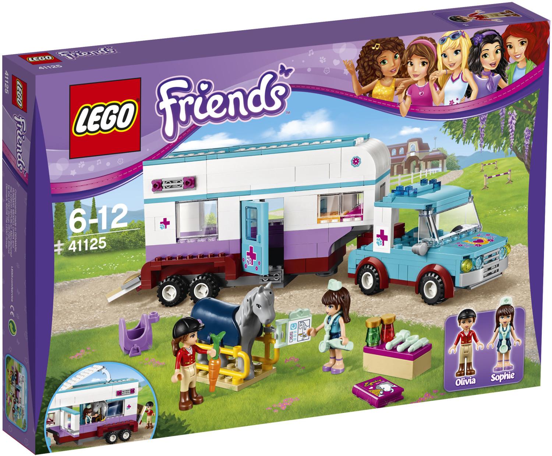 LEGO Friends - La remorque à chevaux du vétérinaire (41125)