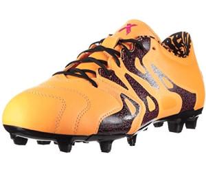 Adidas X15.2 FGAG Leather solar goldcore blackshock pink