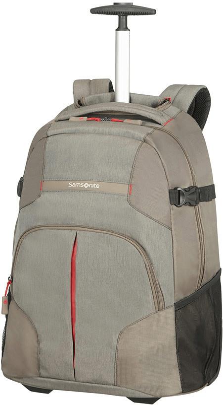Samsonite Rewind Laptop Trolley Backpack taupe ...