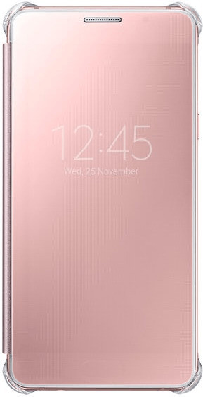 Samsung Clear View Cover gold rose (Galaxy A5 (...