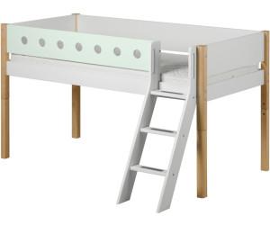 flexa white halbhohes bett 80 17311 ab 429 00 preisvergleich bei. Black Bedroom Furniture Sets. Home Design Ideas