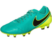 low priced 4270b 45ae3 Nike Tiempo Genio II Leather FG clear jade black volt