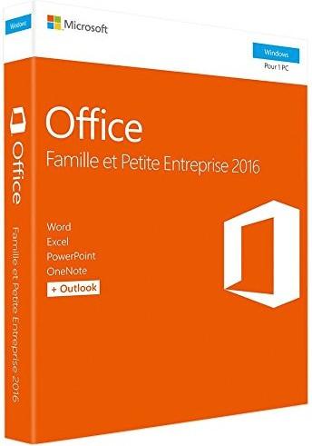 Microsoft Office Famille et Petite Entreprise 2016 (FR)