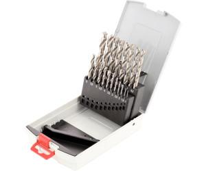 25-teilig, 135° DIN 338 BOSCH Metallbohrer-Set HSS-G