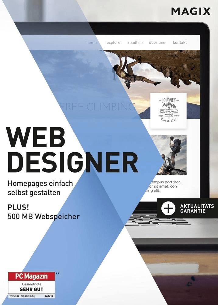 Magix Web Designer 12 Standard