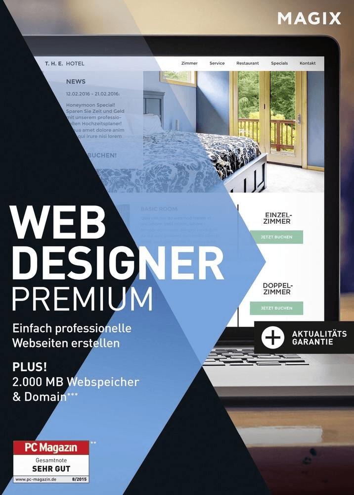 Magix Web Designer 12 Premium