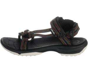 Teva Terra FI Lite Schwarz, Damen Sandale, Größe EU 37 - Farbe City Light Black Pastel Damen Sandale, City Light Black Pastel, Größe 37 - Schwarz