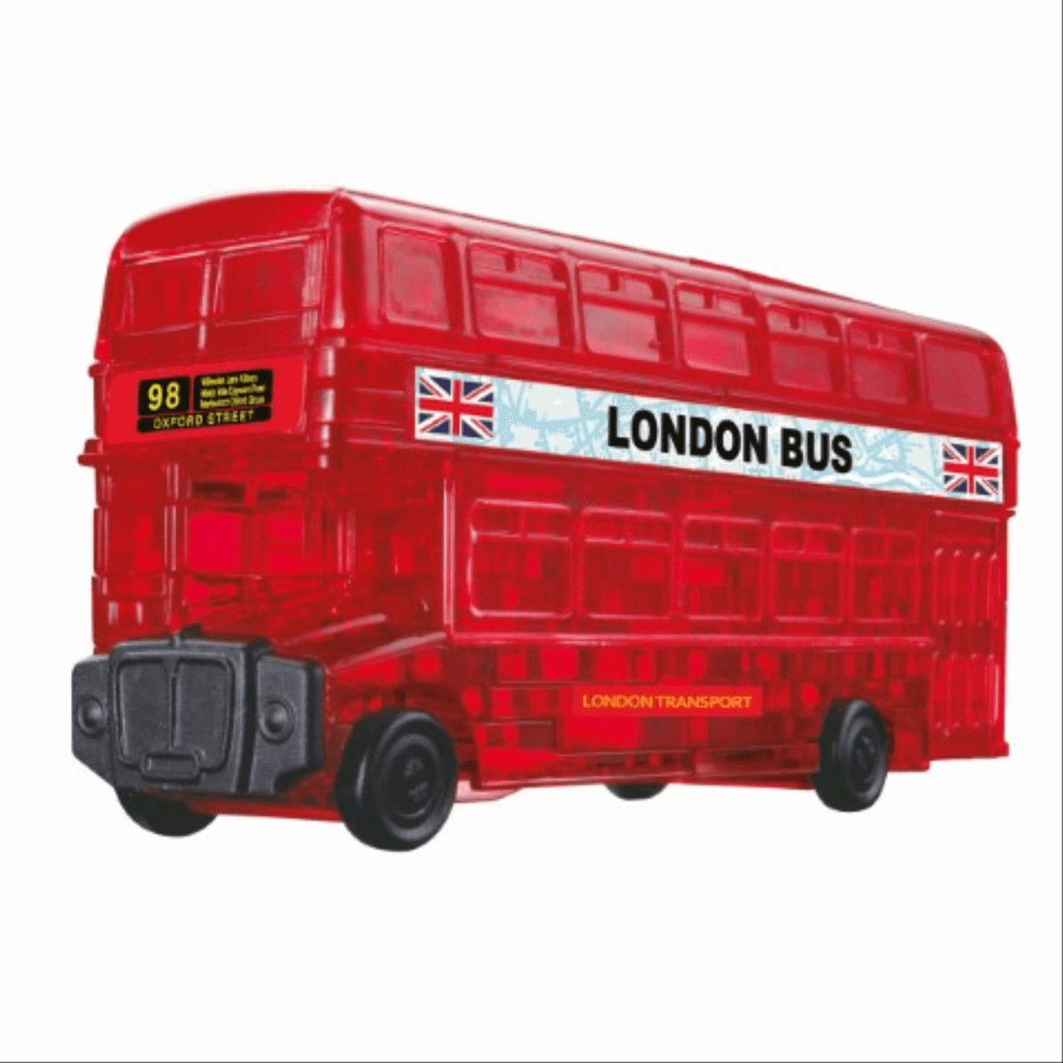 HCM Crystal Puzzle - London Bus