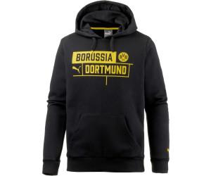 PUMA Borussia Dortmund T7 Kapuzenpullover Damen gelb