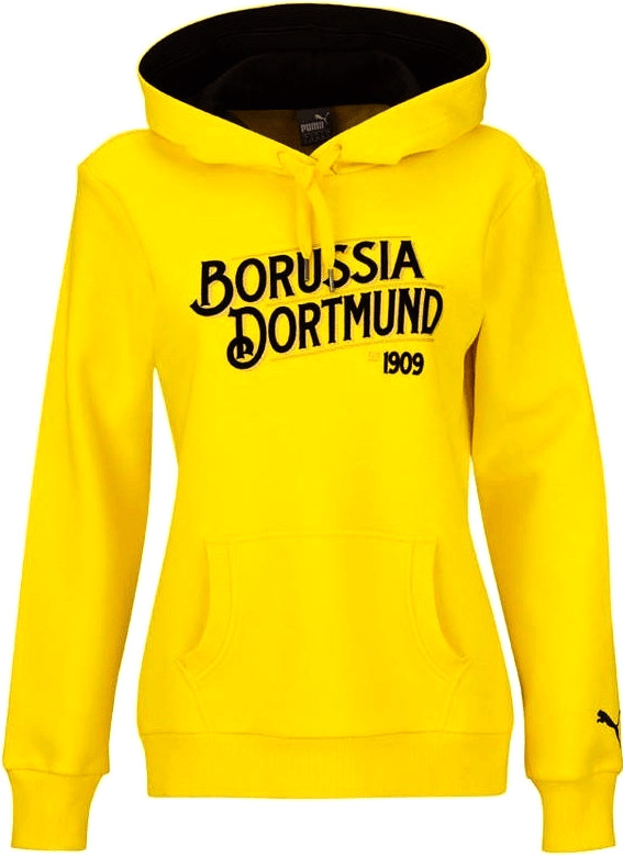 Puma BVB Pullover Borussia Dortmund Damen