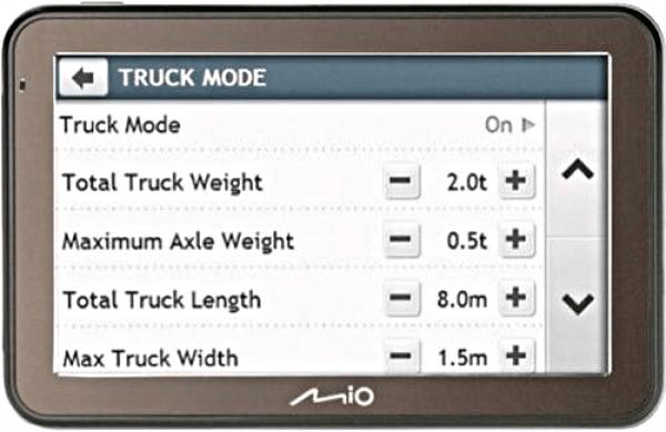 Mio Spirit 7670 LM Truck EU