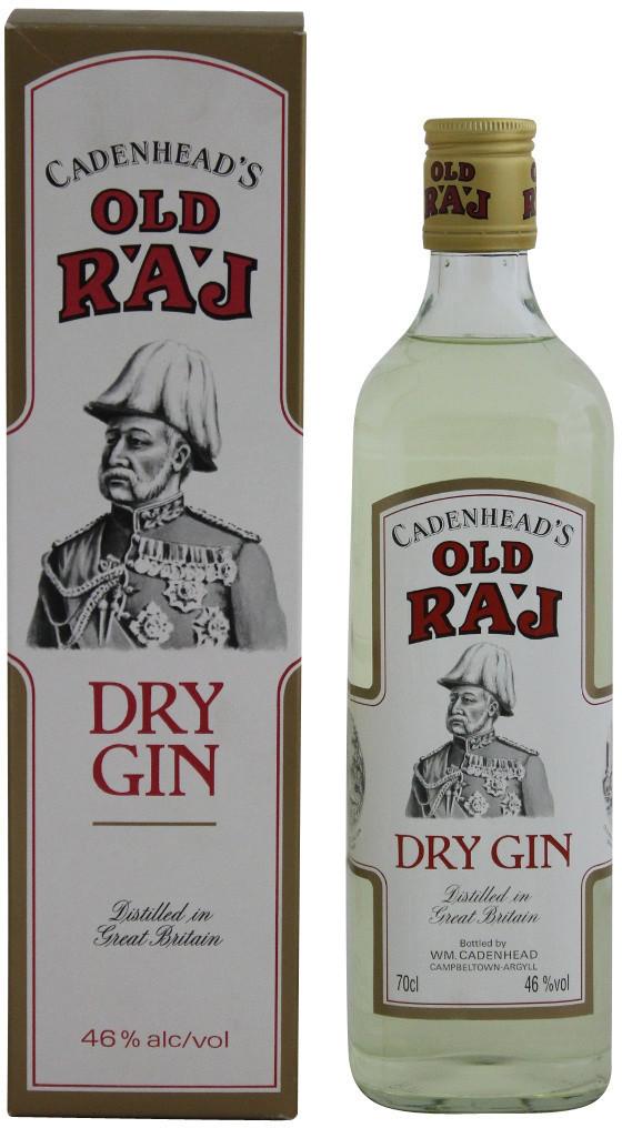 Cadenhead's Old Raj Dry Gin 0,7l 46%