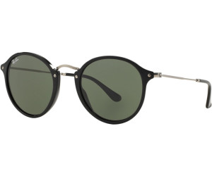 2125c45cf Buy Ray-Ban Round Fleck RB2447 901 black/silver from £109.95 – Best ...