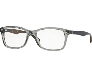 75e0c396fc Buy Ray-Ban RX5228 5546 (grey transparent blue on green-brown) from ...