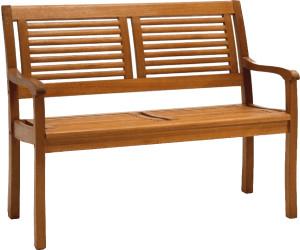 CASAYA Bank Paolo 2 Sitzer Holz Eukalyptus