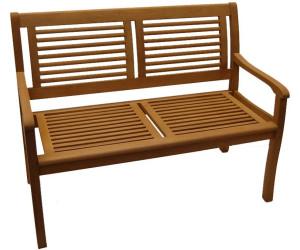 casaya bank paolo 2 sitzer holz eukalyptus ab 59 98 preisvergleich bei. Black Bedroom Furniture Sets. Home Design Ideas