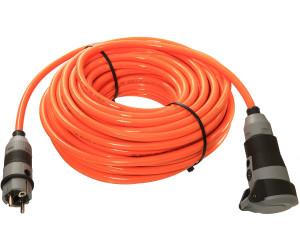 Gummi-Verlängerung H07BQ-F 3x1,5mm² 25m orange