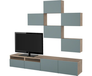ikea best tv m bel kombination ab 430 00. Black Bedroom Furniture Sets. Home Design Ideas