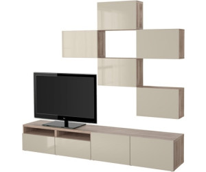 ikea best tv m bel kombination ab 430 00 preisvergleich bei. Black Bedroom Furniture Sets. Home Design Ideas