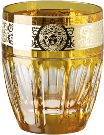 Rosenthal Versace Whisky Gala Prestige amber-Me...