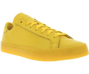 the latest 2c940 5a562 Adidas Court Vantage Adicolor yellow