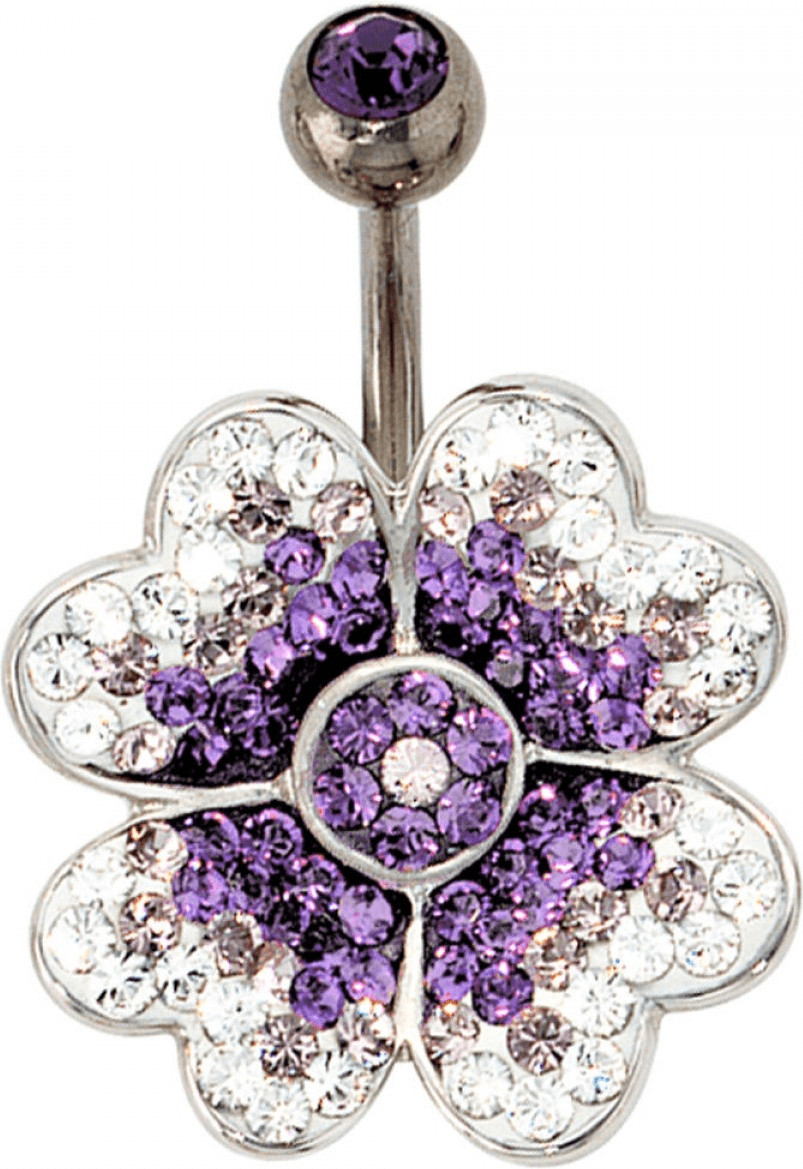 JOBO Bauchnabelpiercing Blume ( 38447)