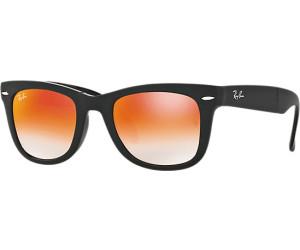 Ray-Ban Folding Sonnenbrille Schwarz 60694W 50mm TG41gU